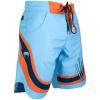 sortky venum boardshort cutback blue orange f2