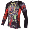 rashguard tatami slayer blood fitexpert f2