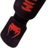 shinguards kontact black red 1500 06