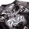 rashguard venum werewolf ls black grey fightexpert f7