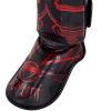 chranice holeni shinguards gladiator black red fightexpert f4
