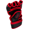 rukavice venum mma gloves gladiator black red fightexpert f4