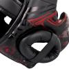 chranic hlavy venum headguard gladiator black red fightexpert f5