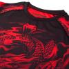 rashguard venum dragons flight black red f6