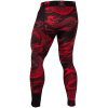 leginy mma spats dragons flight black red f4