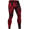 leginy mma spats dragons flight black red f2
