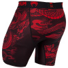 valetudo venum short compression dragons flight black red f4