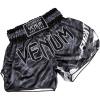 muaythai short sortky venum tecmo dark grey f3