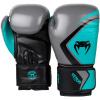 boxing gloves rukavice venum contender 2 grey turquoise black f2