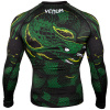 rashguard venum long greenviper black green f4