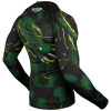 rashguard venum long greenviper black green f3