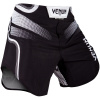 fightshorts venum court black white f2