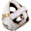 headgear venum box elite white gold f6