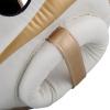 headgear venum box elite white gold f5