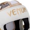 headgear venum box elite white gold f3