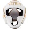 headgear venum box elite white gold f2