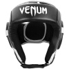 headgear box venum openface challenger black white f2