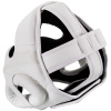 headgear box mma venum elite white white f3
