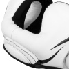 headgear box mma venum elite white black f5