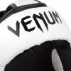 headgear box mma venum elite white black f4