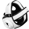 headgear box mma venum elite white black f3