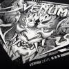 tshirt venum devil white black f6