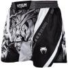 fightshorts venum devil white black f2