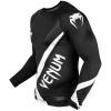 rashguard venum long sleeve contender4 black white f2