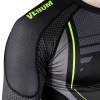 rashguard long venum technical 2.0 black yellow f7