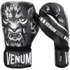 boxing gloves venum devil black white f2
