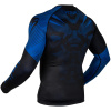 rashguard venum long sleeve nogi black blue f4