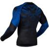 rashguard venum long sleeve nogi black blue f4