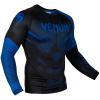 rashguard venum long sleeve nogi black blue f2