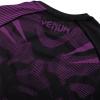 rashguard long sleeves venum nogi black purple f6