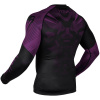 rashguard long sleeves venum nogi black purple f4
