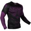 rashguard long sleeves venum nogi black purple f2