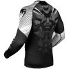 rashguard venum long sleeves nogi black white f4