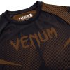 rashguard venum long sleeves nogi black brown f5