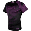 rashguard venum short sleeves nogi black purple f2