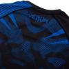 rashguard venum short sleeves nogi black blue f6