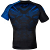 rashguard venum short sleeves nogi black blue f3