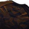 rashguard venum short sleeves nogi black brown f6