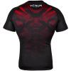 rashguard venum short sleeves nogi black red f4