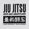 tshirt tatami jiujitsu white f2