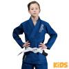 bjj gi kimono kids venum contender blue f1