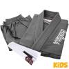 bjj gi kimono kids venum contender grey f3