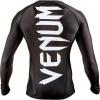 venum rashguard giant ls black f4