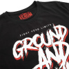tshirt venum ground and pound black f3