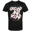 tshirt venum ground and pound black f1