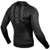 rashguard venum long sleeves technical black f3
